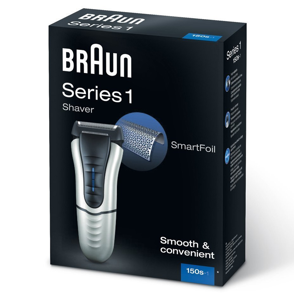 braun series 1 150s 1 electric rechargeable mens precision. Black Bedroom Furniture Sets. Home Design Ideas