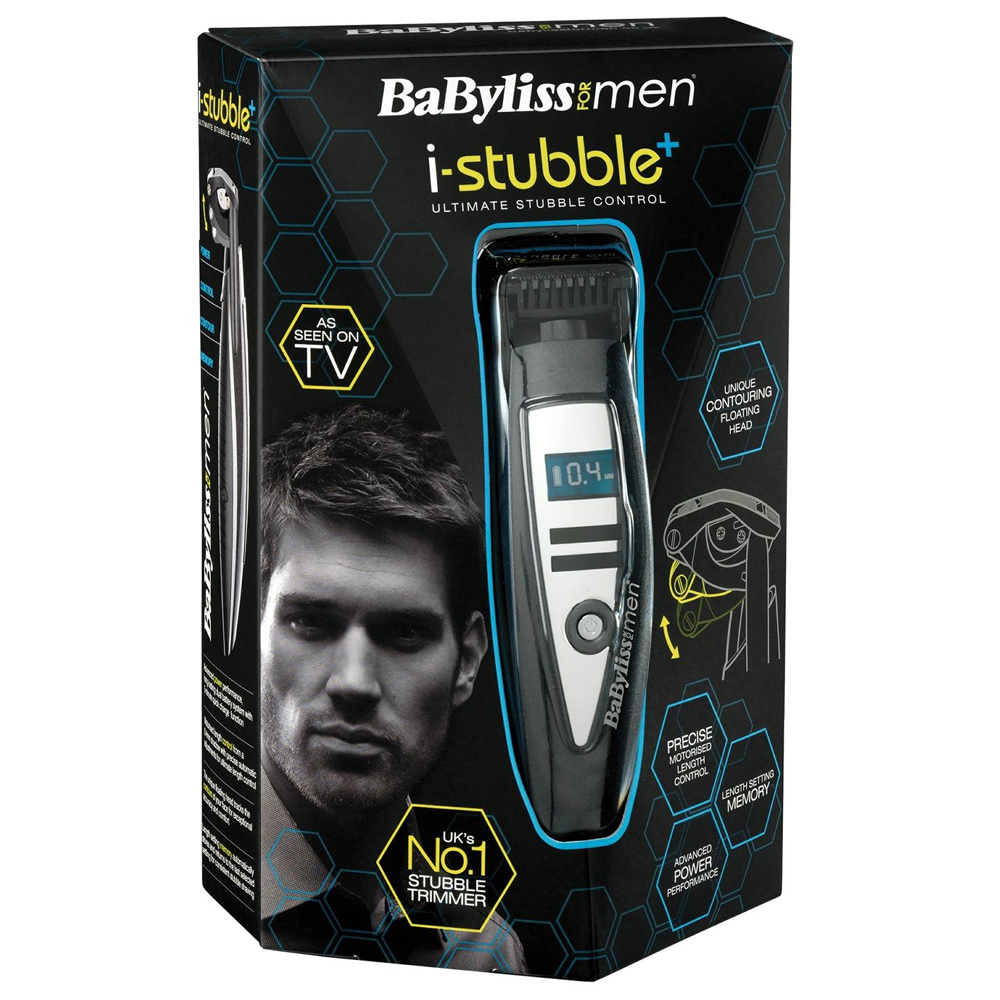 babyliss for men i stubble plus 7895u electric trimmer hair remover ebay. Black Bedroom Furniture Sets. Home Design Ideas