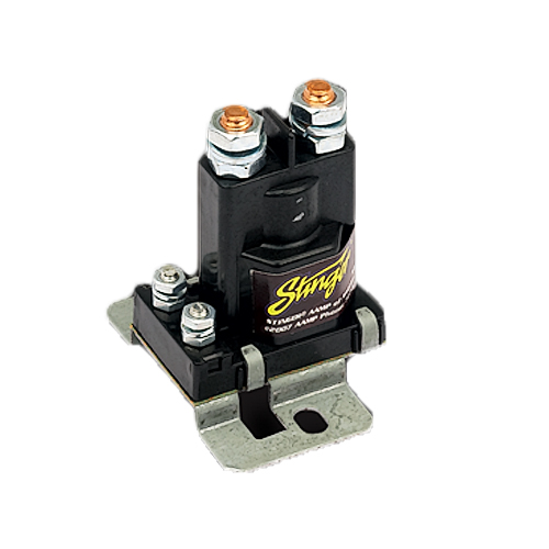 Sure Power Battery Isolator Wiring: Stinger SGP38 High Current Split Charging 80 Amp Relay