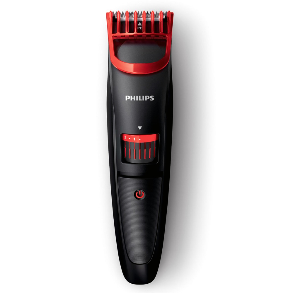 philips mens beard hair stubble adjustable length trimmer shaver cordless ebay. Black Bedroom Furniture Sets. Home Design Ideas