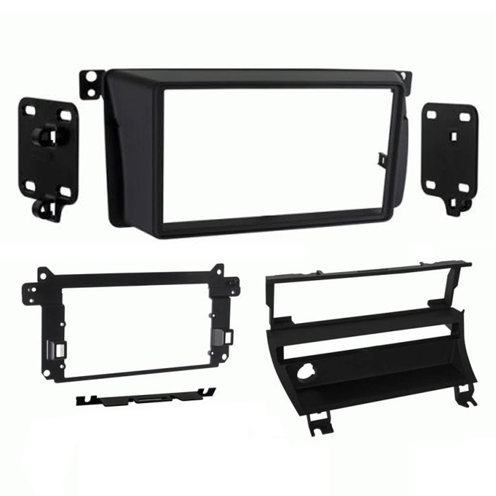 ct23bm11l bmw 3er e46 doppel din auto stereo frontblende. Black Bedroom Furniture Sets. Home Design Ideas