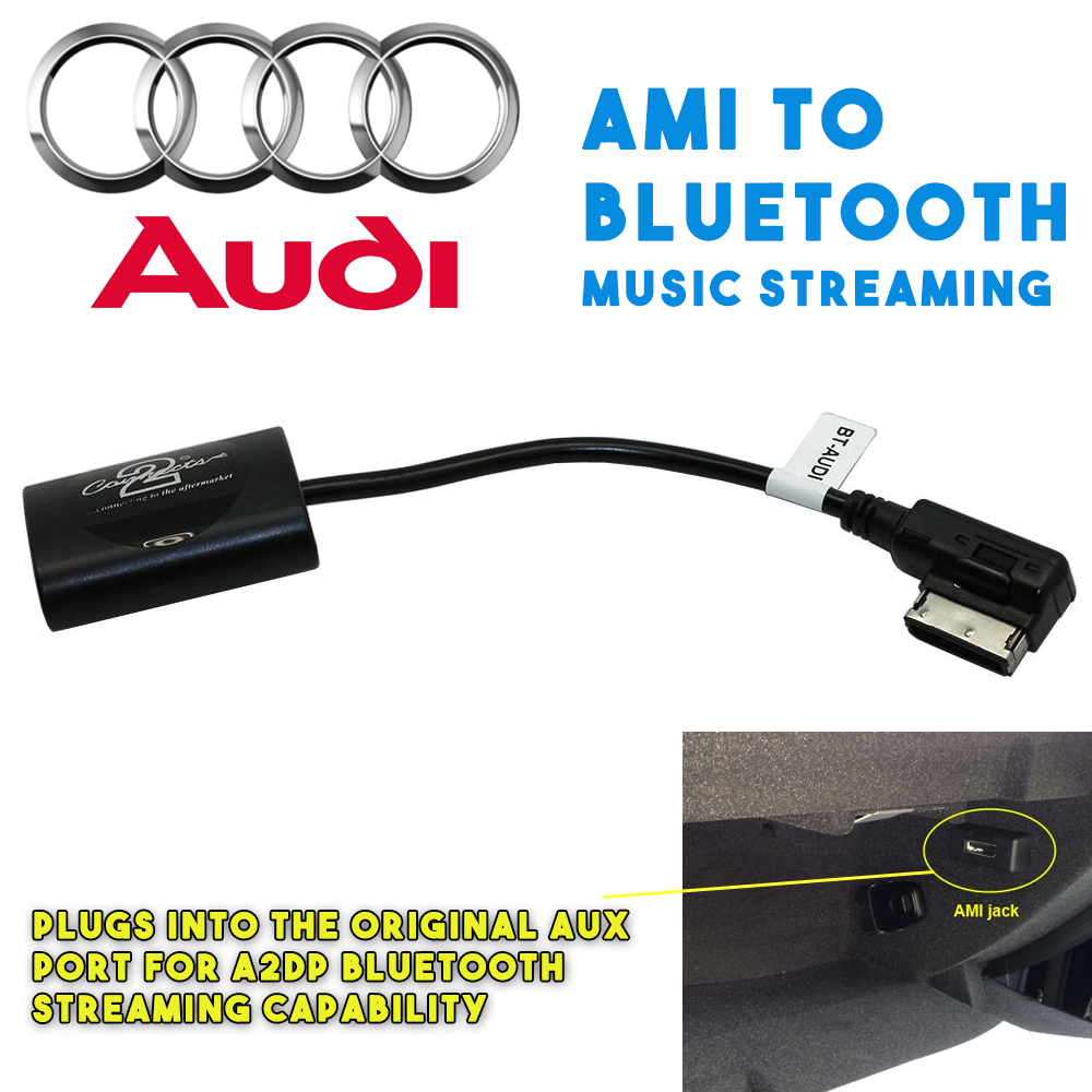 Usb Interface Bluetooth A2dp Music Streaming Adapter: A2DP Bluetooth Music Streaming Interface Adaptor For Audi