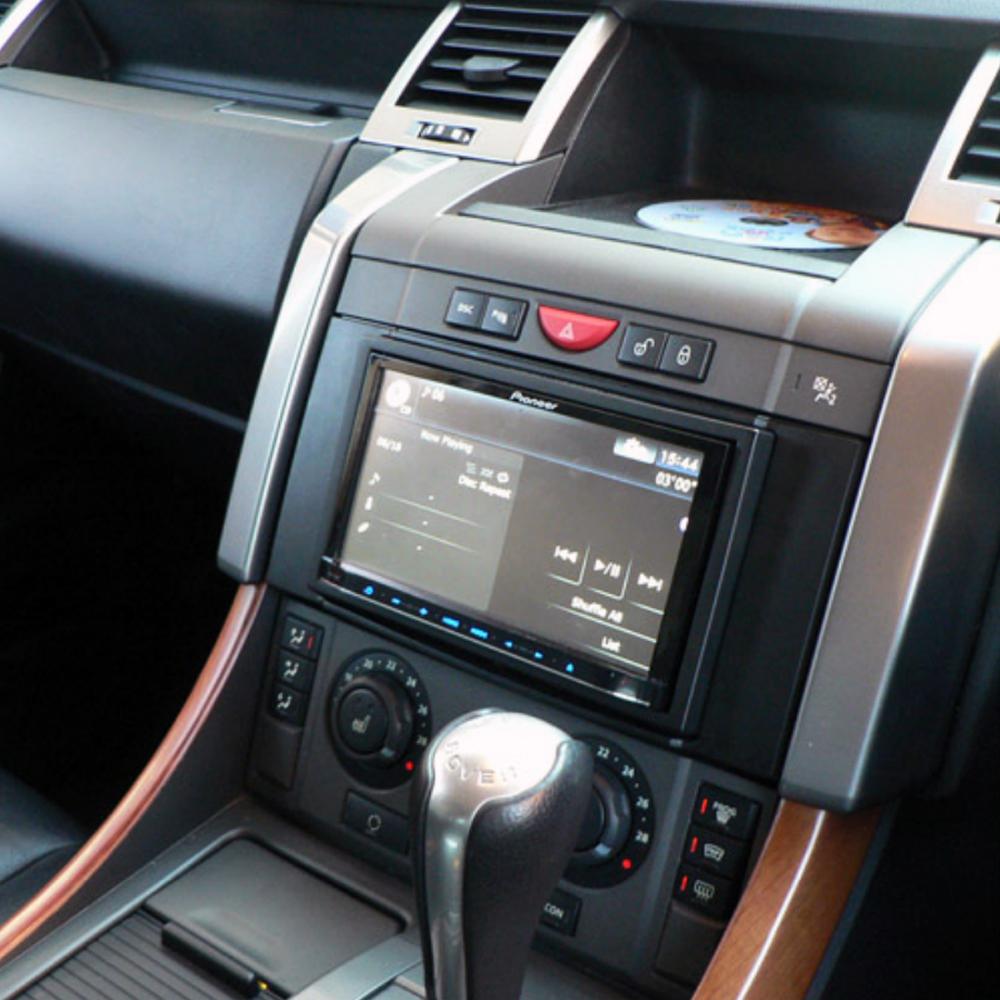 range rover sports 2005 09 double din car stereo fascia. Black Bedroom Furniture Sets. Home Design Ideas