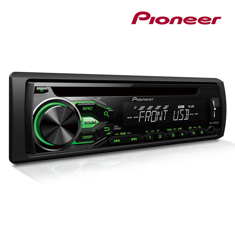 pioneer deh 1800ubg voiture radio android cd mp3 lecteur. Black Bedroom Furniture Sets. Home Design Ideas