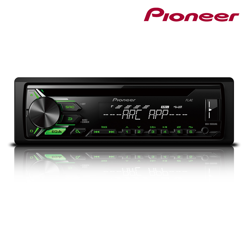 pioneer deh 3900bt car stereo bluetooth usb cd aux for. Black Bedroom Furniture Sets. Home Design Ideas
