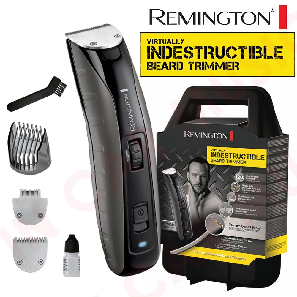remington mb4850 virtually indestructible beard trimmer cord cordless ebay. Black Bedroom Furniture Sets. Home Design Ideas