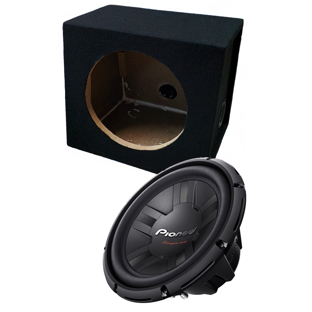 pioneer 12 auto bass sub subwoofer 1400w. Black Bedroom Furniture Sets. Home Design Ideas