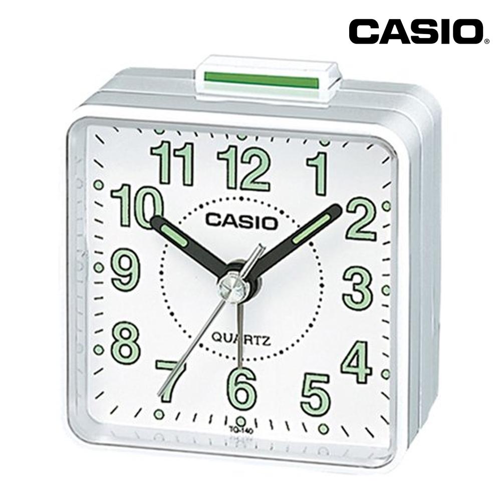 casio travel bedroom bedside alarm clock free battery