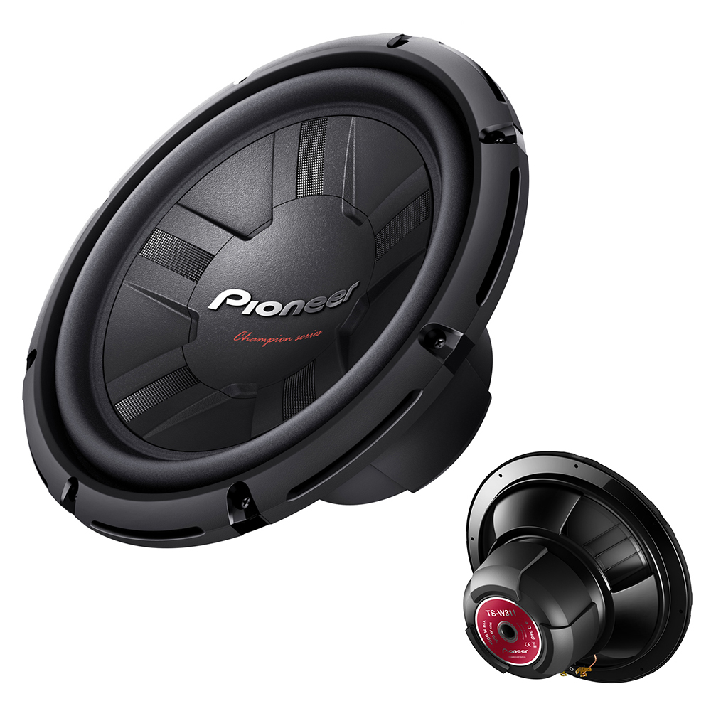pioneer 12 inch 300w rms 1000w 4 ohms open free air car. Black Bedroom Furniture Sets. Home Design Ideas