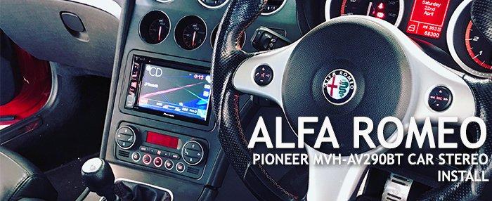 Alfa Romeo Pioneer MVH-AV290BT