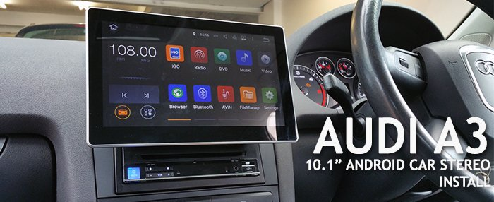 Audi A3 10.1 Stereo