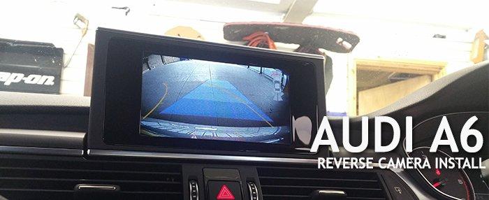 Audi A6 Reverse Camera