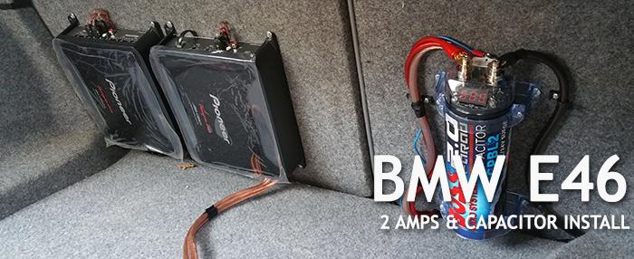 BMW E46 Amp Cap