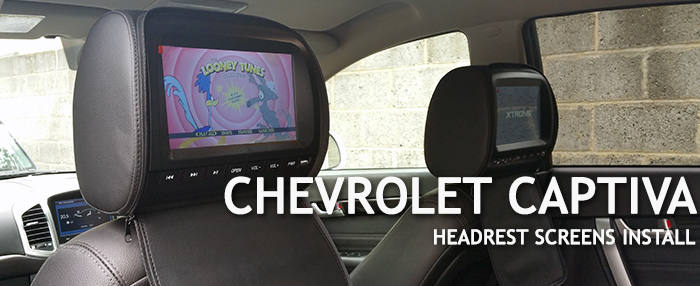 Chevrolet Captiva Headrest
