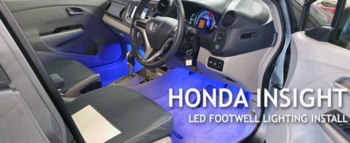 Honda Insight Footwell Lighting