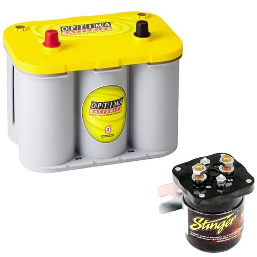 Batteries / Capacitors