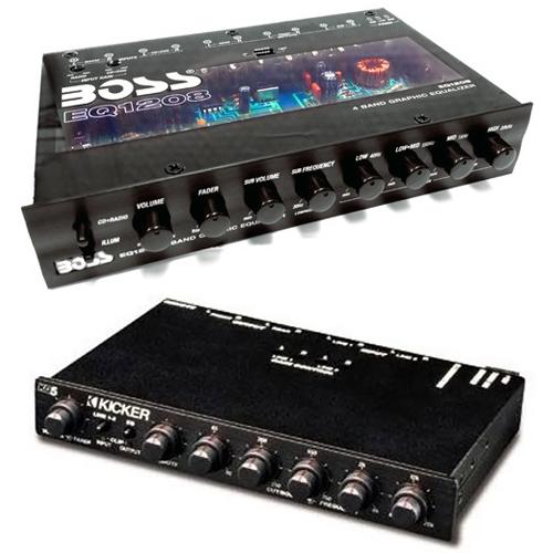 X'Overs / EQs / Bass Level