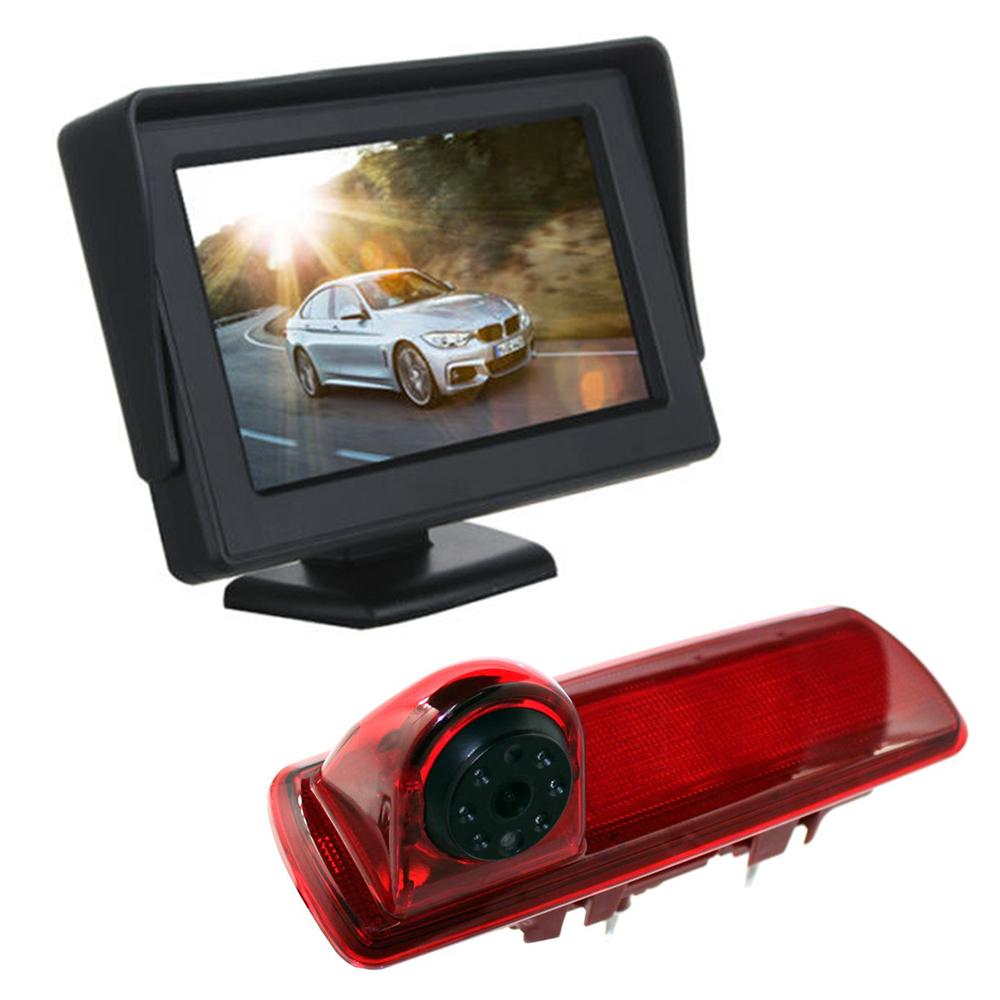 4 3 Quot Dash Monitor Screen Brake Light Camera For Vauxhall