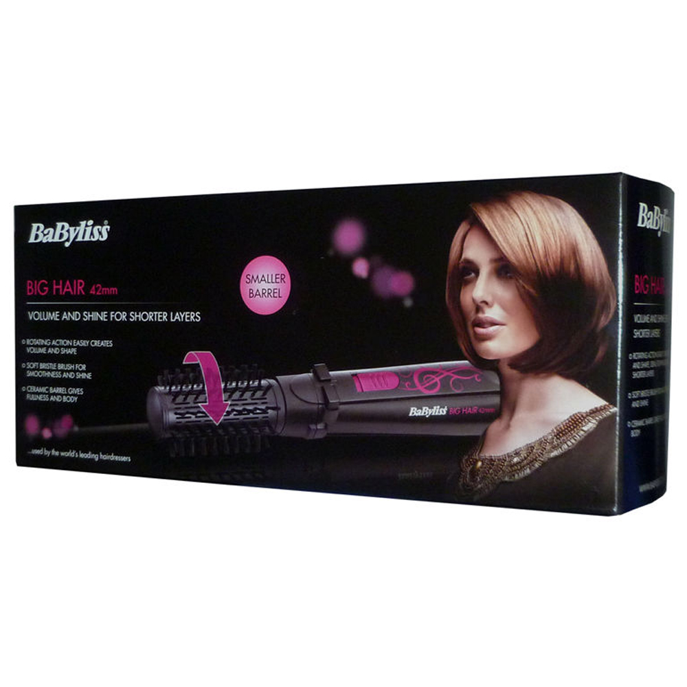 Babyliss Big Hair 42mm Rotating Hot Air Styler Hair Dryer