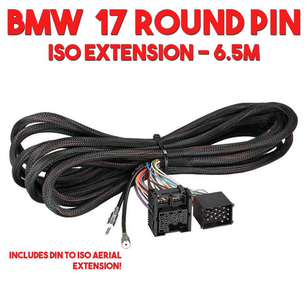 bmw 3 5 7 series x5 z3 car stereo iso rear wiring harness. Black Bedroom Furniture Sets. Home Design Ideas