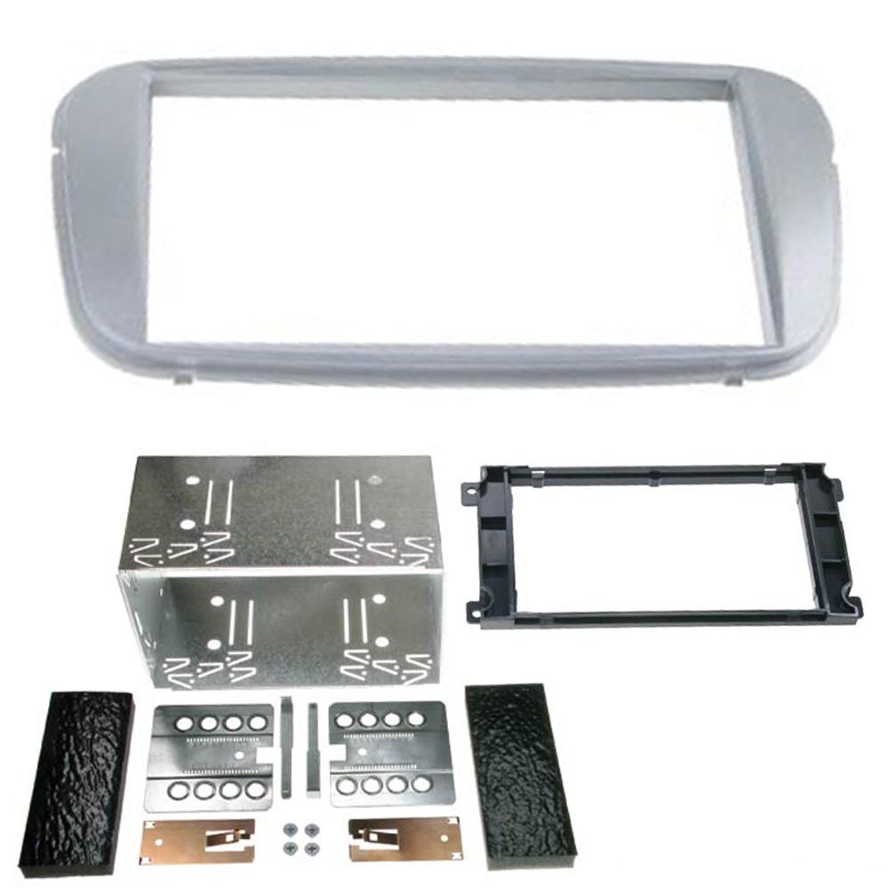 CT23FD09 Double DIN Argent Carénage Kit de montage pour Ford Mondeo 2007 /> #