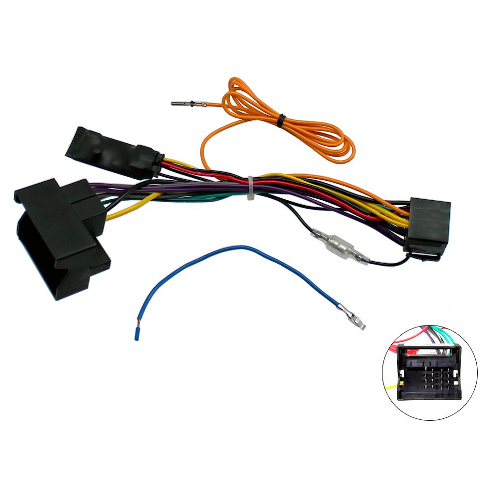 Audi A3 8p A4 B7 Tt Canbus Car Stereo Iso Wiring Harness W 12v Connector Ignition Feed