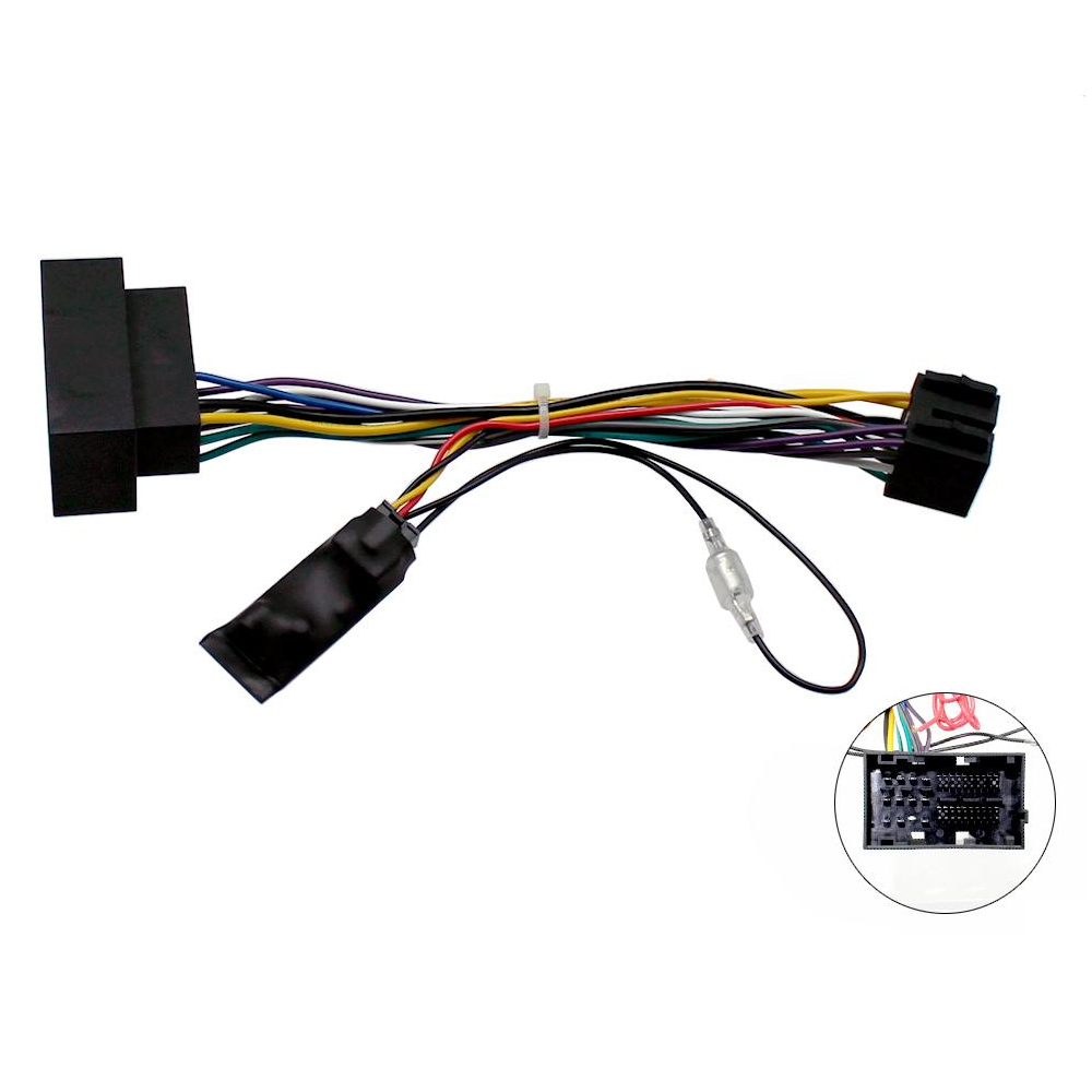 Fiat 500l Ducato Canbus Car Stereo Iso Harness Lead With 12v Full Bose Cd Fitting Kit Fascia Wiring Ebay Ignition Feed