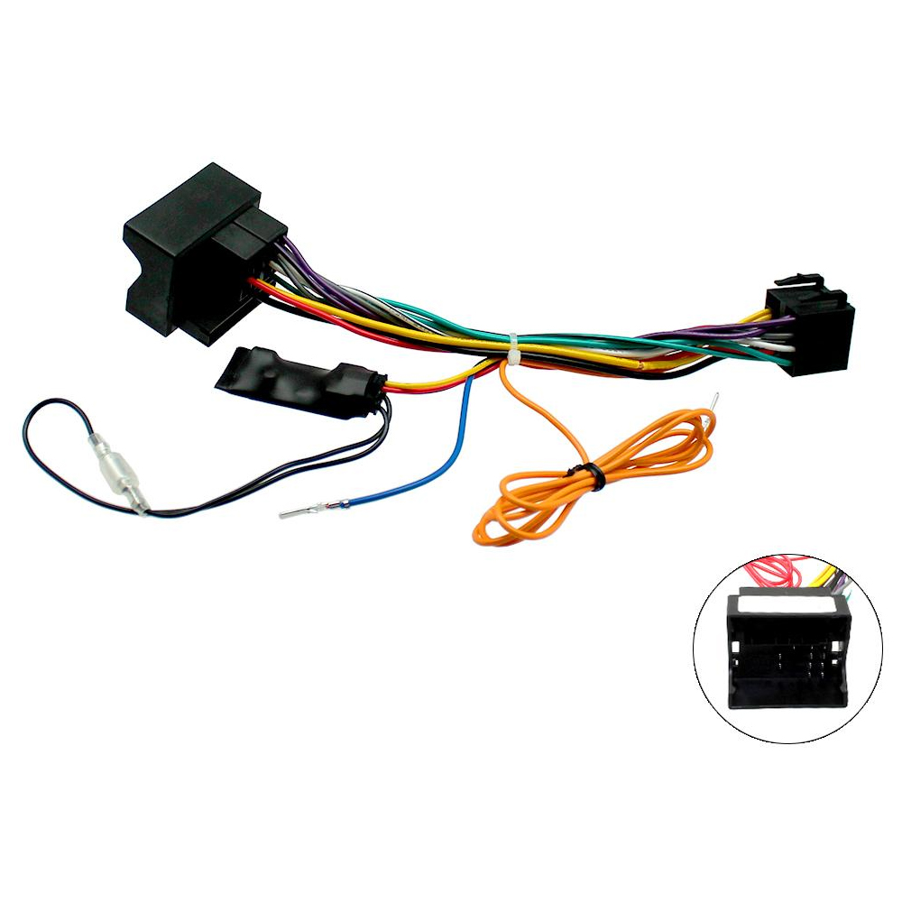 Peugeot Canbus Car Radio Stereo Iso Wiring Harness Lead With 12v Automotive Electrical Ignition Feed