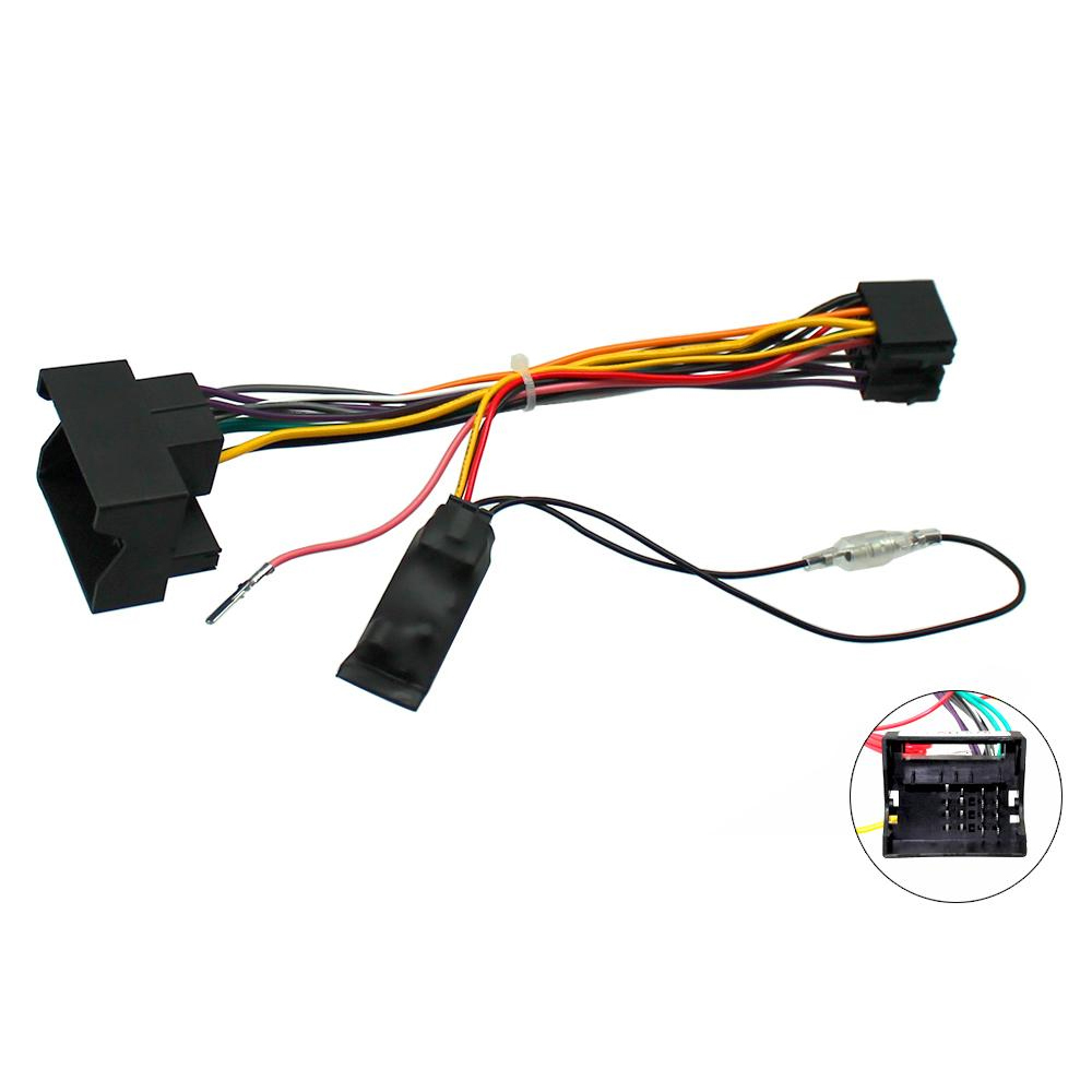 Vauxhall Astra Corsa Zafira Combo CANBus Car Stereo ISO Lead w/ Ignition  Feed
