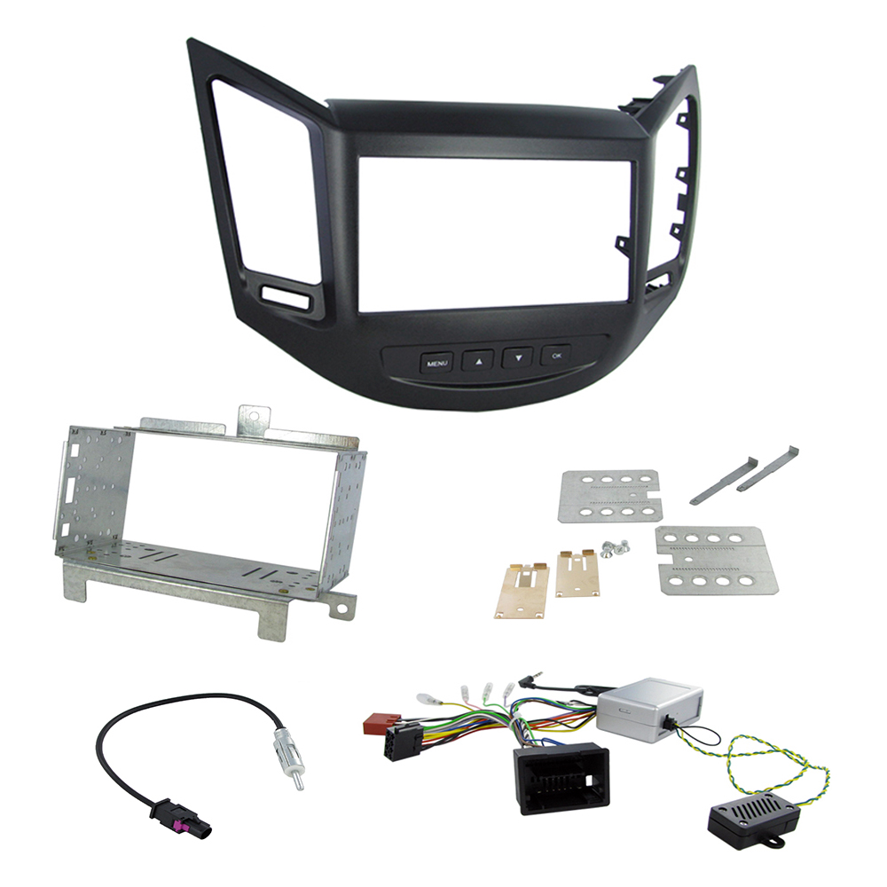 Chevrolet Orlando Double Din Radio Fascia Panel Car Stereo Fitting Dash Kit Wiring