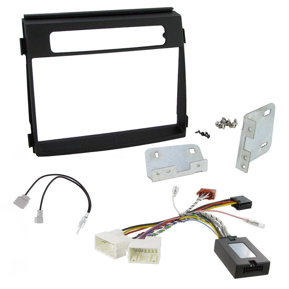 Kia Soul Double Din Facia Car Stereo Fitting Kit For Line Level System Wiring Amplified