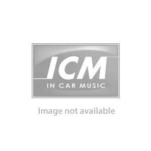 Hyundai i10 Double Din Fascia Adapter & Steering control Interface (Black)