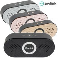 Wireless Portable Rechargeable Bluetooth Music Speaker with Mic - Pocket Size