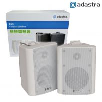 Compact 2 Way Stereo Wall Mount Background Music Speakers - 70W
