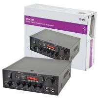 Compact Bluetooth Digital Stereo Amplifier With FM Radio, USB & SD - 55w