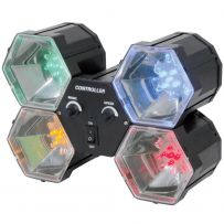 4 Way / Four Way Colour LED Party Light - Sound Activated Speed Control