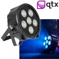 QTX High Power COB LED Party Disco Garden Club Light Sound Jump Activated Chase
