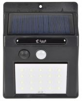 20 LED SOLAR POWERED PIR SECURITY GARAGE SHED PATIO DRIVEWAY PATH OUTDOOR LIGHT