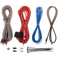 Car Complete 10 Gauge Amp Fuse Holder RCA Amplifier Cable Subwoofer Wiring Kit