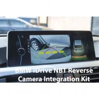 Front and Rear Camera Integration Kit for BMW 1, 2, 3, 4, 5, 6, 7, i3, i8, X3, X4, X5, X6 Series with iDrive NBT System