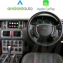 Wireless Apple CarPlay Android Auto Interface for Range Rover 2005 - 2009 	Denso Touch screen navigation V2