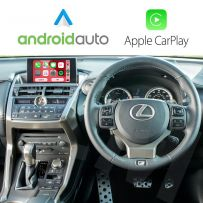 Wireless Apple CarPlay Android Auto Interface for Lexus NX 2014-2019 with Phone Mirroring