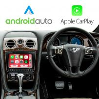 Wireless Apple CarPlay Android Auto for Bentley Continental GT/Flying Spur 2011-2015