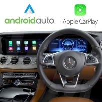 Wireless Apple CarPlay Android Auto Interface for Mercedes 2016 Onwards with Comand NTG 5.5