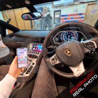 Wireless Apple CarPlay Android Auto Interface for Lamborghini Aventador 2013-2020