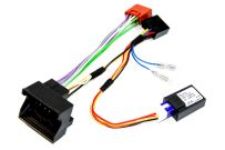 Quadlock Radio ISO lead with CANbus 12v accessory ignition supply for Citroen/Peugeot/Toyota