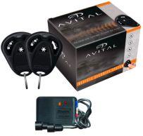 Avital 3100 3-Channel Car Alarm & 2 Remotes Keyless Entry + 509U Ultrasonics Sensor