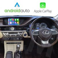 Wireless Apple CarPlay Android Auto Interface for Lexus ES 2014-2019 with Smartphone Mirroring