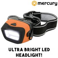 2W LED Ultra Bright Mini Flashlight Headlamp Torch Headlight Camping Hiking