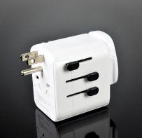 World Travel Adaptor with Dual USB Ports